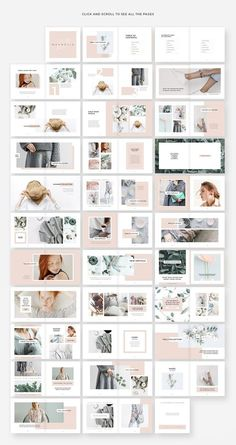 Magnolia Lookbook Template by Studio Sumac on @creativemarket