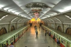 North Korea - subway