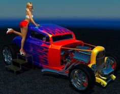 Girls and Hot Rods and Rat Rods!