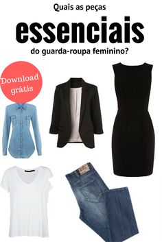 which are the essential parts of the women's wardrobe.- quais as peças essenciais do guarda-roupa feminino. peças … which are the essential parts of the women's wardrobe. 60 Fashion, Fashion Looks, Womens Fashion, Capsule Outfits, Capsule Wardrobe, Plus Size Chic, Basic Outfits, Look Chic, Casual Chic
