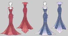Monotone Sky Gown by CrimsonCommande on DeviantArt