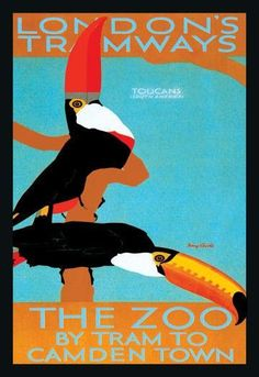Series: Exotic & Tropical Birds Artist: Tony Castle Period: Source country: Britain Source Year: 1929 28 inch by 42 inch Giclee print on Canvas. All files are stored digitally and are ready for reprod