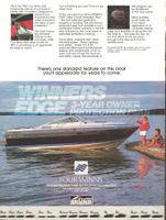 Four Winns 225 Sundowner Boat 1987 Ad Picture