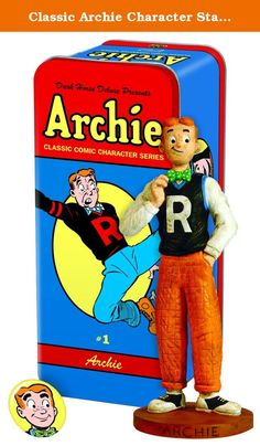 Classic Archie Character Statue #1: Archie by Dark Horse Deluxe. Just in time to celebrate the seventieth anniversary of Archie comic, Dark Horse releases Archie statues with the Syroco-style treatment. Archie Andrews is the prototypical All-American teenager. With his signature red hair, freckles and eternal optimism, Archie is the protagonist of the Archie Comics Universe and the center of a love triangle with his two girlfriends, Veronica and Betty. A classic underdog persona, Archie...