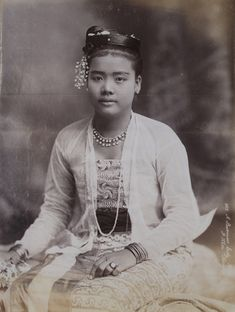 A Burmese Lady by Philip Adolphe Klier