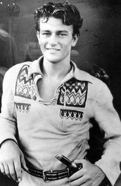Young John Wayne.  He's so handsome!