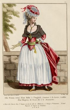 c1776 French Fashion Plate