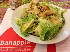 yummy caesar salad -  At Banapple, Quezon City