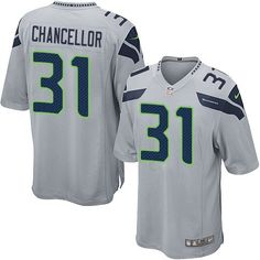 2cf9669c8 Nike Limited Kam Chancellor Grey Youth Jersey - Seattle Seahawks  31 NFL  Alternate Seattle Seahawks