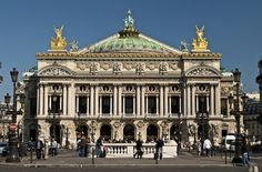 The Paris Opera, or Palais Garnier, is the most famous auditorium in the world. With 2,200 seats, this opera house designed by Charles Garnier is admired as one of the most prominent architectural masterpieces of its time.