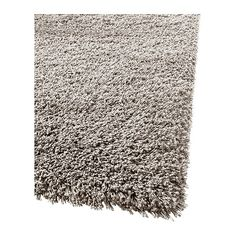 """GÅSER Rug, high pile IKEA The high pile dampens sound and provides a soft surface to walk on. Nicer quality than the Hampen one. $200 for size I need. 6'5"""" x 4'4""""."""