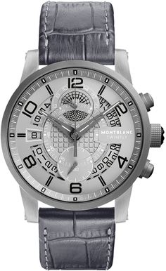 Montblanc presents:Montblanc TimeWalker TwinFly Chronograph GreyTech Limited Edition - 888 pieces