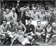 Italy's World Cup winning team, 1938.