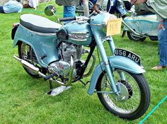 1961 Triumph Twenty One Twin Cylinder Engine British Motorcycles, Vintage Motorcycles, Triumph Motorcycles, Cars And Motorcycles, Super 4, Combustion Engine, Old Bikes, Classic Bikes, Vintage Bikes