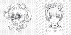 Amazon.com: Pop Manga Coloring Book: A Surreal Journey Through a Cute, Curious, Bizarre, and Beautiful World (9780399578472):…