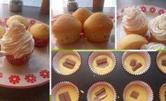 Cheesecake Brownies, Crafts For Kids, Dessert Recipes, Cooking Recipes, Cupcakes, Cookies, Breakfast, Presne Tak, Basket