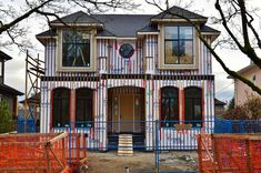 Dunbar Vancouver Custom Built Home - Wallmark Custom Homes - Vancouver, Burnaby & North Shore Model House Plan, House Plans, Vancouver, Custom Built Homes, Dream House Exterior, Home Design Plans, Villas, Facade, Houses
