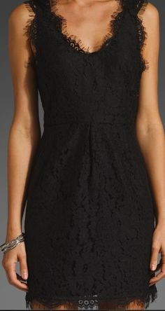 perfect little black dress. that I need.