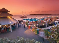 Sunset Pier Key West, this is where i finally had a Cuban sandwich
