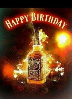 Ol no 7 Jack Daniels! Happy Birthday Jack Daniels, Happy Birthday Whiskey, Birthday Cheers, Happy Birthday Quotes, Happy Birthday Images, Man Birthday, Birthday Gifs, Happy Birthday Wishes Cards, Birthday Wishes Quotes