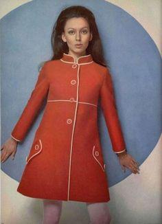 Louis Feraud Outfit - 1968 L'Officiel De La Mode - 553-554
