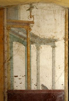 Excavated from Stabiae, near Pompeii