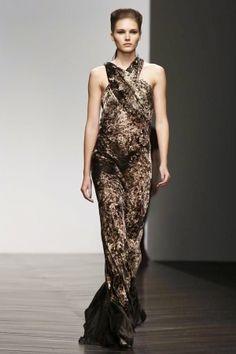 Maria Grachvogel, Look 5. xoxo, k2obykarenko.com #London #FashionWeek #Fall2013