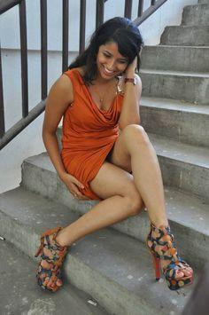 Sravya Reddy Hot Thigh Show Photos