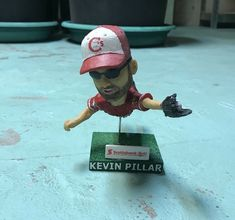 KEVIN PILLAR Vancouver Canadians SGA Bobblehead Limited 1000 (8/18/16) Jays #TorontoBlueJays Vancouver Canadians, Kevin Pillar, Ray Lewis, Baker Mayfield, Anthony Davis, Sidney Crosby, Toronto Blue Jays, Baltimore Orioles, Cleveland Browns