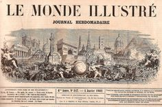 Voici la série consacrée à Paris. Dans cet article, quelques personnages typique du Paris de 1862. L'homme orchestre des Champs-Elysées. Peut-être l'arrière grand-père de Rémi Bricka ? Paris. L'homme au lièvre. Tripoli, fils de la Gloire. Celui-là il...