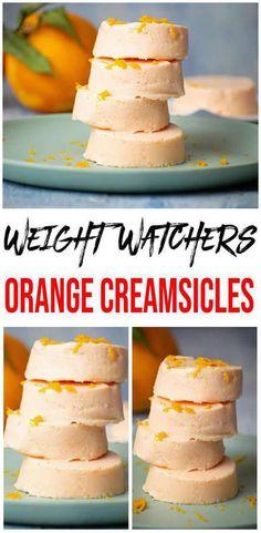 3 Ingredient Weight Watchers Dessert – The BEST Weight Watchers Recipe – Orange Creamsicles {Easy – No Bake} Ww Desserts, Sugar Free Desserts, Dessert Recipes, Appetizer Recipes, Jello Recipes, Ww Recipes, Orange Creamsicle, Orange Jello, Orange Zest