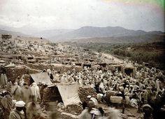 Asni   Marché au pied du Djebel Toubkal dans l'Atlas   1924