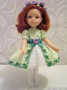 Платье для куклы Paola Reina (32см) / Одежда для кукол / Шопик. Продать купить куклу / Бэйбики. Куклы фото. Одежда для кукол