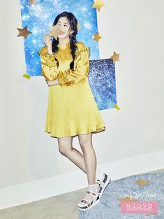 Irene (Red Velvet) tóc thắt bím. xinh tươi ngọt ngào trong ảnh quảng cáo mới