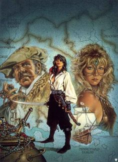 Feel Free to Read: Clyde Caldwell: Fantasy Illustrator