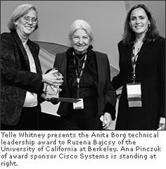 """Professor of Electrical Engineering and Computer Science, University of California at Berkeley In 1979 Bajcsy helped create robots that could sense and respond to their environment. She now heads an innovative institute where researchers develop smart low-power sensors that both compute and communicate. Bajcsy believes the sensors will be """"the next revolution in technology."""" They can monitor energy consumption in buildings, watch for forest fires, or keep tabs on people by, for example…"""