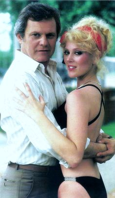 Cliff Barnes and Afton Cooper (aka the golddigger from the show Dallas...where i got my name!!) lol