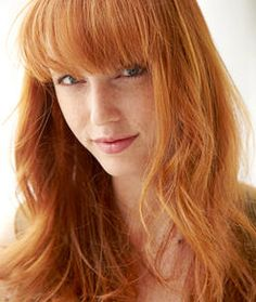 @Hannah Blount - Red hair like this for you? I love it :)