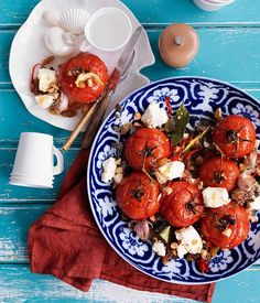 Gourmet Traveller side dish recipe for roast tomatoes with raisins ...