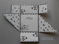 Modern Medley Six-Fold Card Inside by niece - Cards and Paper Crafts at Splitcoaststampers