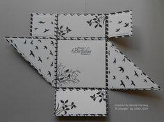 Modern Medley Six-Fold Card Inside