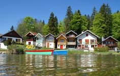 Village de Port Titi - Cabanes - My Haut-Doubs, passion Tradition-Lac Saint Point Point, Rives, Europe, Traditional, Paris, House Styles, Passion, Inspiration, Cabins