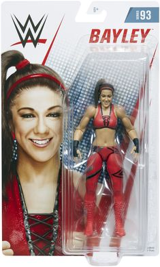 Bayley - WWE Series 93 Toy Wrestling Action Figure by Mattel Gender: unisex. Bayley Nxt, Figuras Wwe, Bailey Wwe, Wwe Toys, Nxt Takeover, Wwe Action Figures, Wwe Elite, Sasha Bank, Wwe Womens