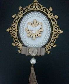 Medalhão de porta  @blessedartes