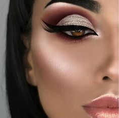 É maquiagem ou desenho Make-up