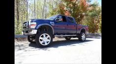 2008 Ford Super Duty F-250 Diesel XLT 4WD Lifted Truck