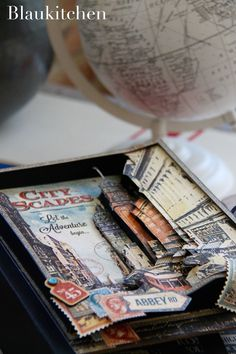 Travel album City Scapes Graphic 45
