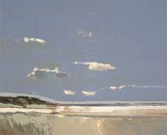 Marram Grass, Wells Beach by John Abstract Landscape Painting, Seascape Paintings, Landscape Art, Landscape Paintings, Painting Inspiration, Les Oeuvres, Painting & Drawing, Illustration Art, Illustrations