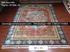 260L silk rug #rugs#carpets#silkrugs#silkcarpets#persianrugs#persiancarpets