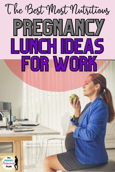 These are all the best pregnancy lunches for on the go. These packed lunch ideas for pregnant women are perfect for work or any time you need a sack lunch. These healthy pregnancy lunch ideas are perfect pregnancy lunch recipes whether you want a hot or cold meal. Plus each of these recipes is super nutritious and are loaded with the nutrients that your baby needs to grow healthy and strong. These are the most healthy lunch ideas for pregnant women on the go. #pregnancydiet #pregnancynutrition Pregnancy Lunches, Best Pregnancy Foods, Pregnancy First Trimester, Healthy Pregnancy Tips, Pregnancy Labor, Pregnancy Nutrition, Pregnancy Workout, Prenatal Workout, Pregnant Diet